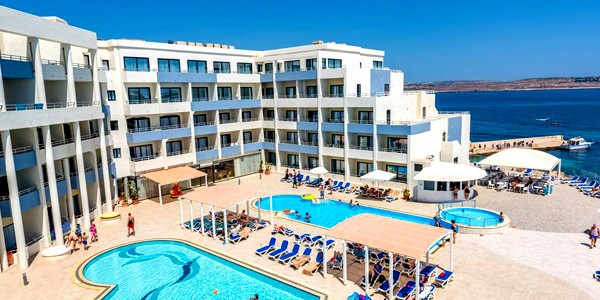 4* Seafront Malta All Inclusive with Fantastic Facilities