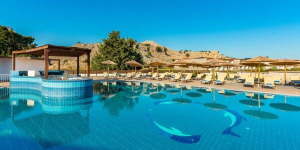 4* Rhodes All Inclusive Week with Fantastic Pool Area