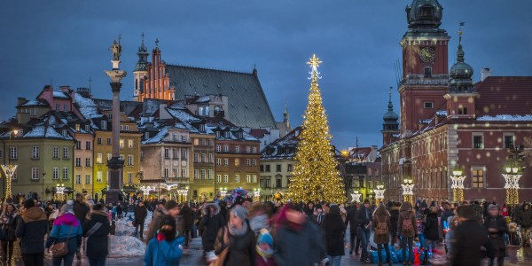 Luxury 5* Warsaw Christmas Market w/ Breakfast