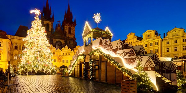 4* Award Winning Prague Xmas Market w/ Return Flights