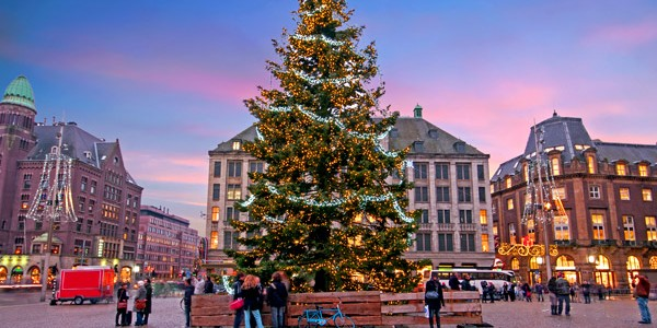 4* Amsterdam Xmas Market w/ Certificate of Excellence & Flights
