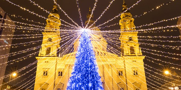4* Budapest Xmas Market w/ Certificate of Excellence & Flights