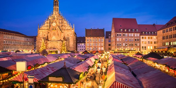 3* Xmas Market Break to Nuernberg w/ Breakfast & Flights