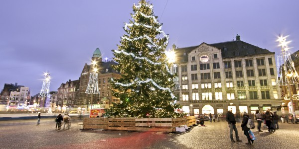 4* Deluxe Xmas Market Break to Amsterdam w/ Breakfast