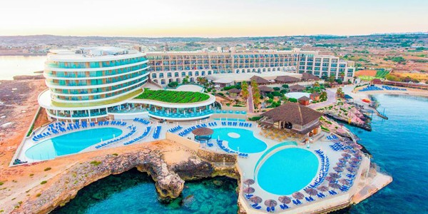 Malta: Award Winning 4 Star All Inclusive w/ Private Beach & Flights