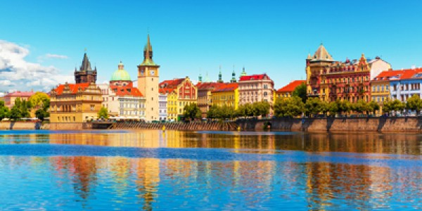 Prague: 4 Star Break w/ FREE Vltava River Cruise